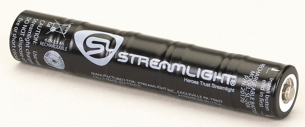 Streamlight SL-20XP Battery
