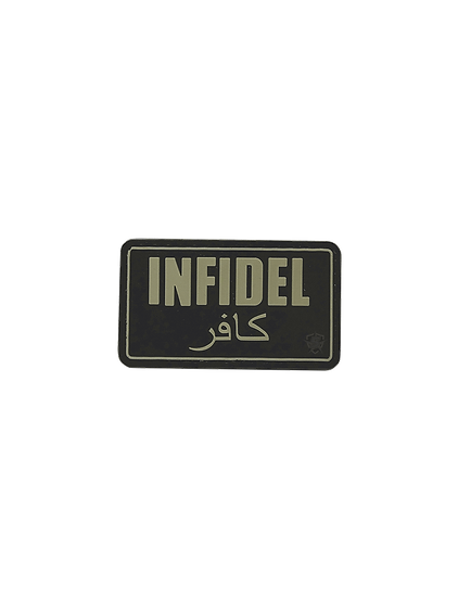 Infidel PVC Morale Patch