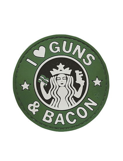 Guns And Bacon PVC Morale Patch