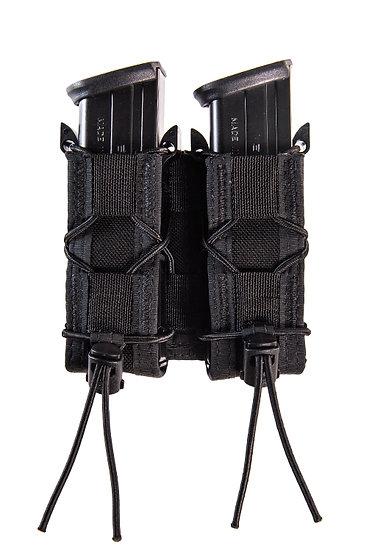 High Speed Gear Double Pistol Taco Pouch, Black
