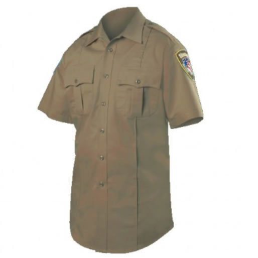 Blauer 8460 Wool Blend Short Sleeve Shirt
