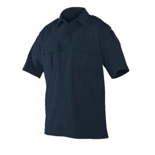 Blauer 8130 Bi-Component Knit Police Polo