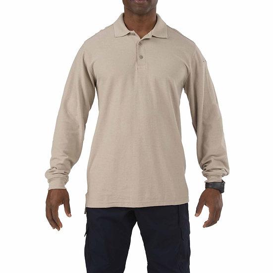 5.11 Men's Long Sleeve Utility Polo