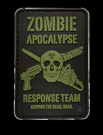 Zombie Apocalypse Response Team PVC Morale Patch