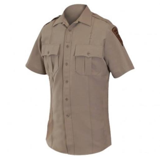 Blauer 8446 Wool Blend Super Shirt, Short Sleeve