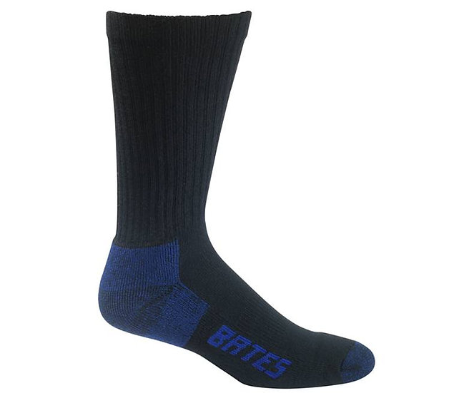 Bates 3-Pack Comfort Crew Socks