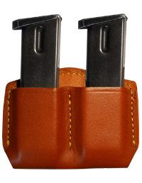 Gould & Goodrich Leather Double Magazine Case