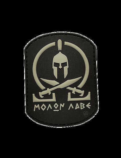 Black Molon Labe PVC Morale Patch