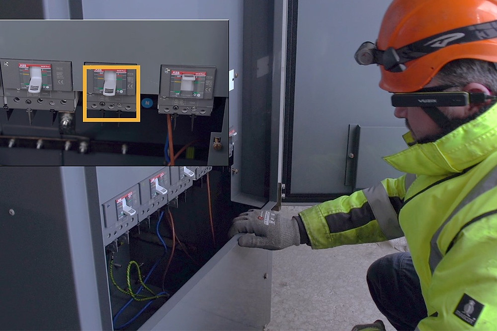 Industrial Augmented Reality Solutions for Energy