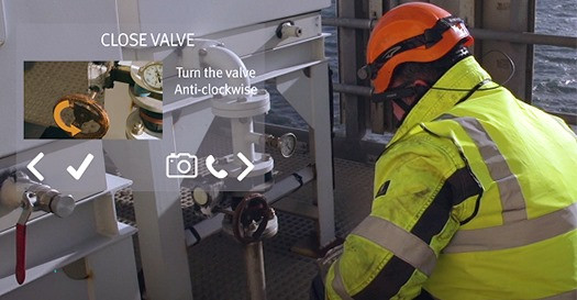 Industrial Augmented Reality for Engineer Technician