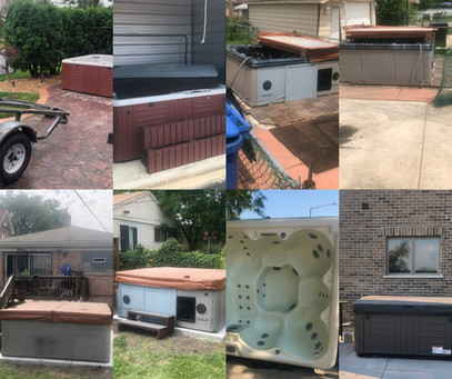 Hot tub Moving services