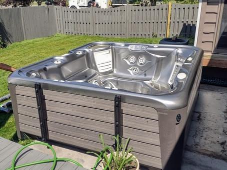 Hot tub moving in Northwest Indiana