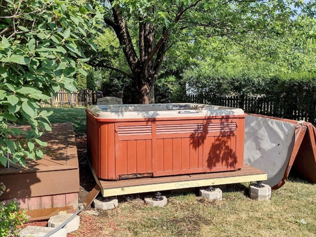 Local hot tub movers here to help your moving process go easier.