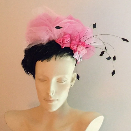 Black Feathers and Silk Flowers