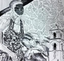 Pen & Ink Figure