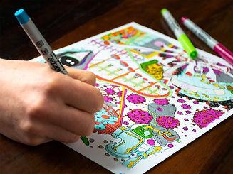 Adult Color Books - Color Books Covid 19 - Adult Color Books pass time