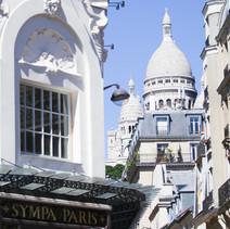 Montmartre vu d'Anvers