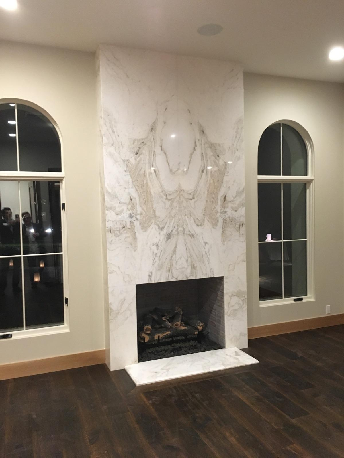 Custom Statement Fireplace