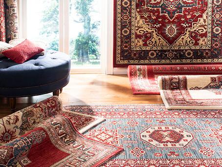 ¿Cómo limpiar alfombras hechas a mano?