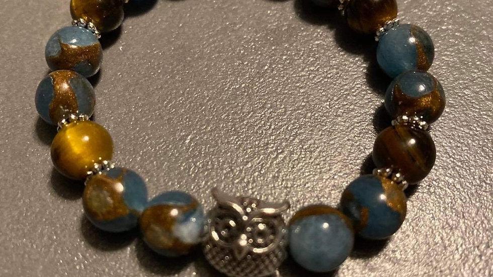 Bracelet en perles fait mains