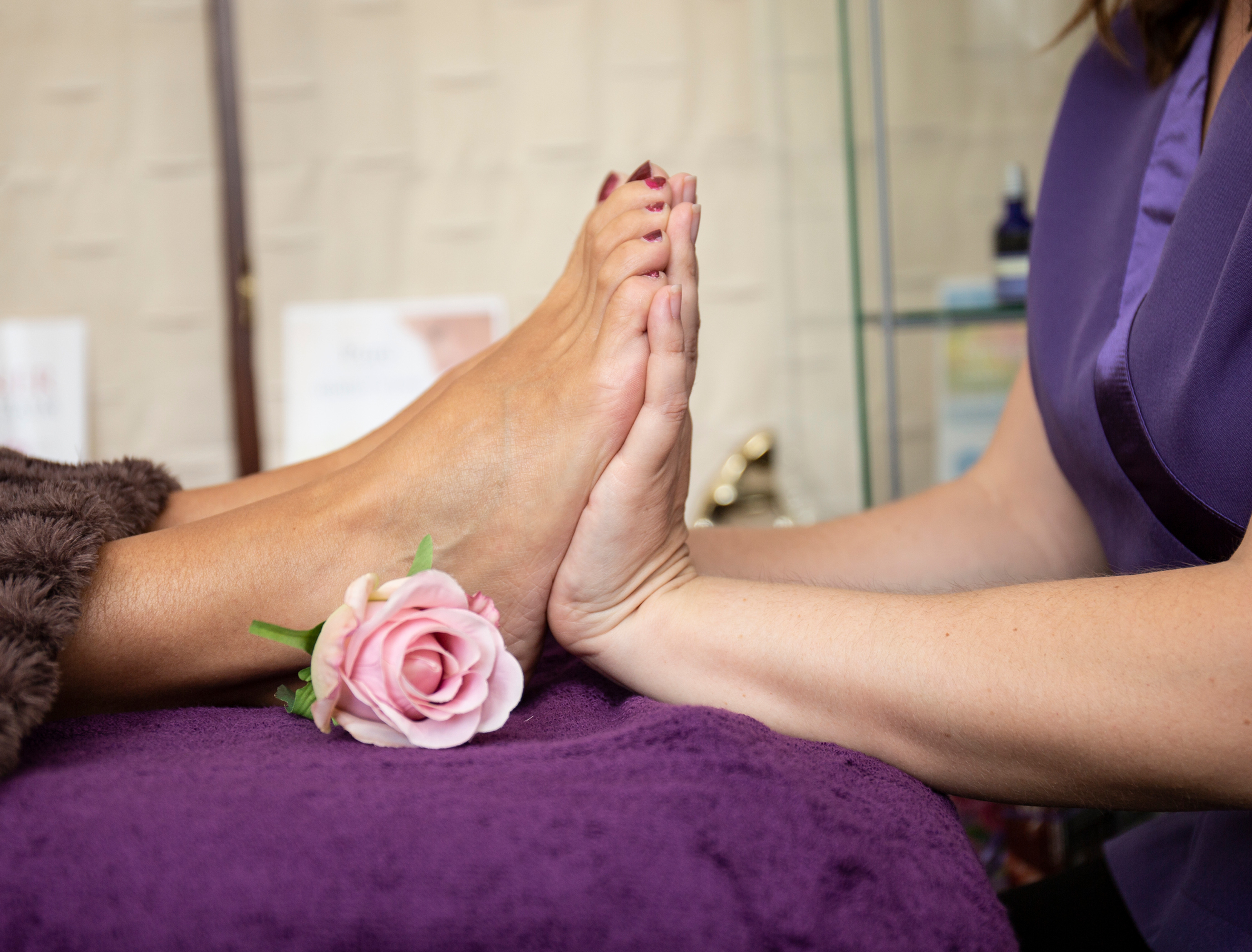 Reflexology for Conception