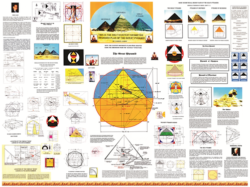 The only geometric designed plan of The Great Pyramid / with Free IntoductionDVD