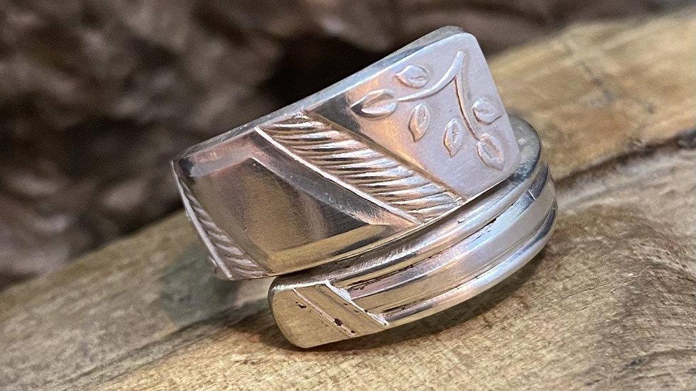 Vintage Teaspoon Ring Number 3