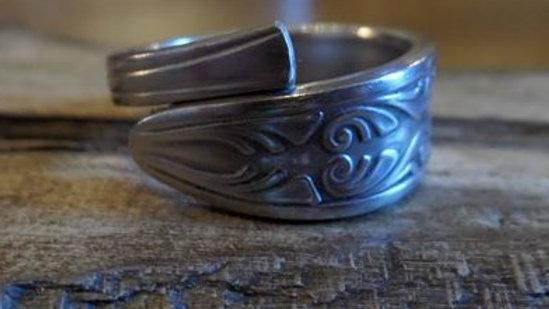 Vintage Teaspoon Ring Number 11