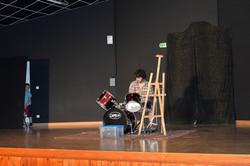 Simon : professeur de batterie