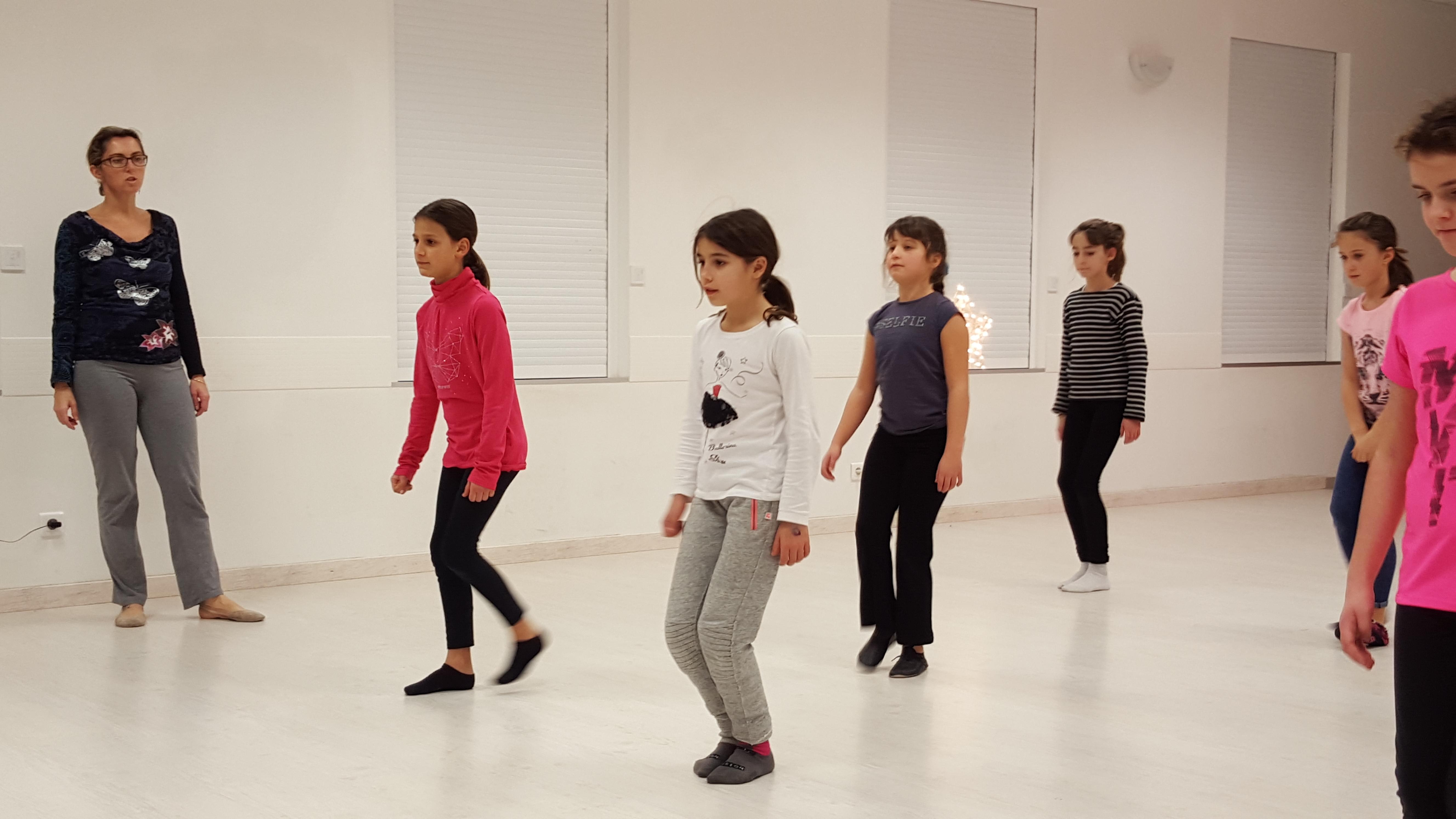 cours danse jazz