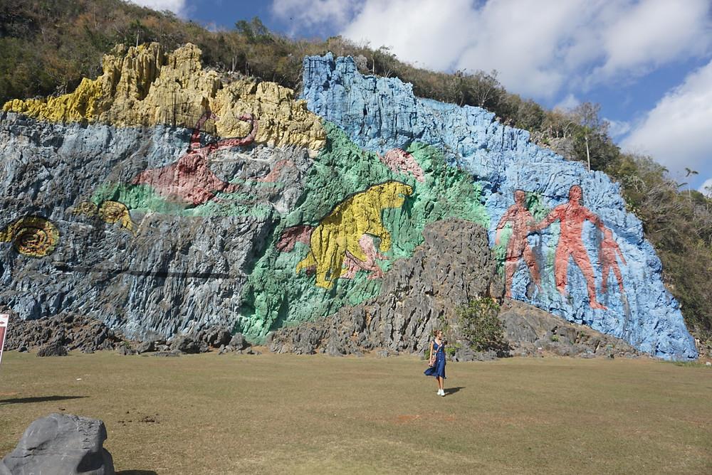 mural da pre historia cuba
