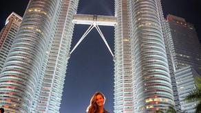 Uma noite com as Petronas - Kuala Lumpur