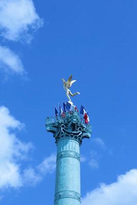 Place de la Bastille - nosso ponto de partida