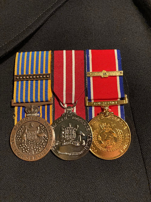 Mounting of Medals & Ribbons
