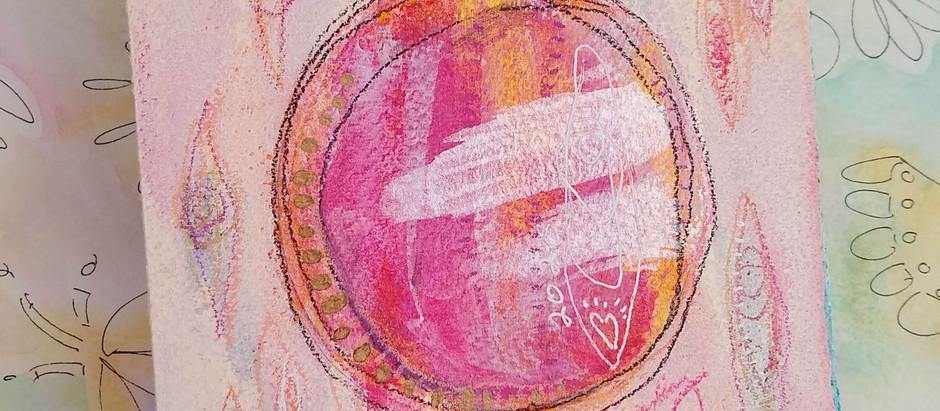 Healing Intention Art Journal