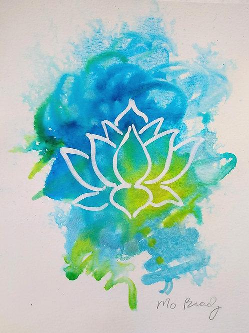"""""""Glowing Lotus"""""""