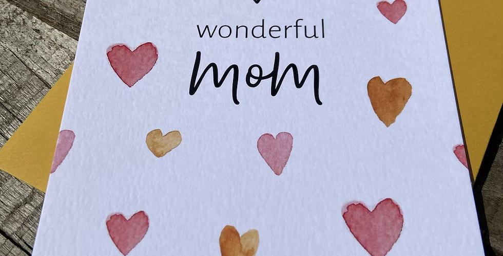 Muttertag - Grußkarte