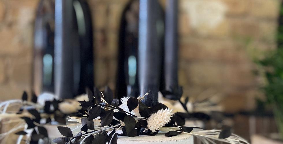 Glas ausgeschmückt - Dried Flowers