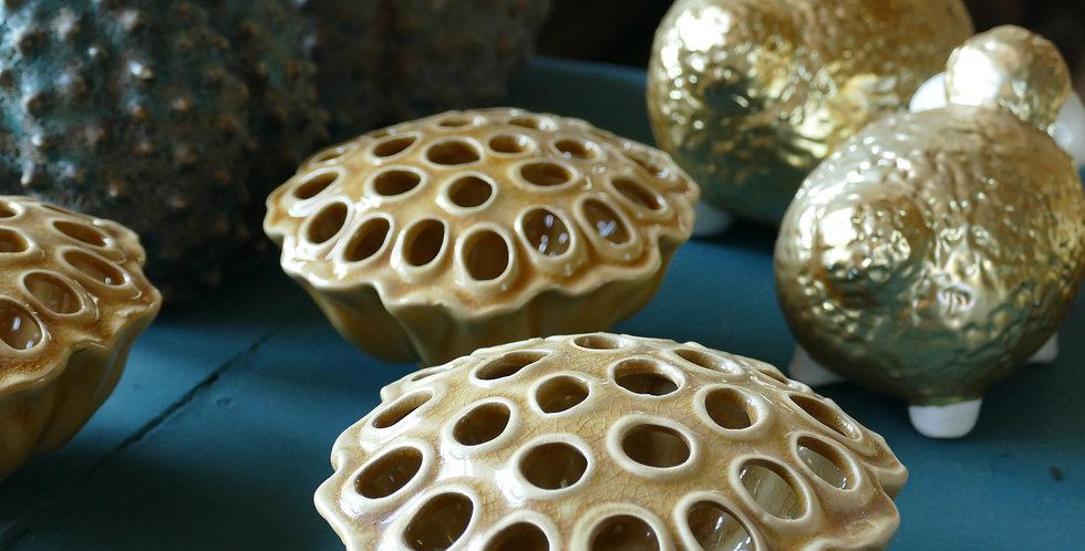 Vase Lotus Keramik