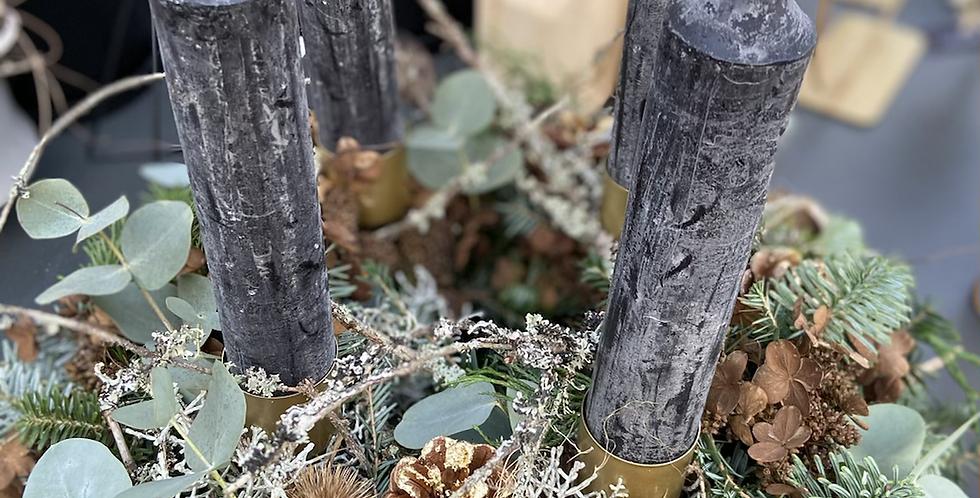 Frischling - Adventkranz - Grau