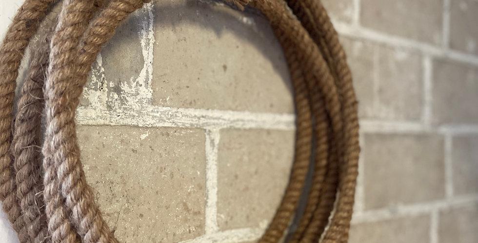 Ring umwickelt mit Kordel | 26 cm
