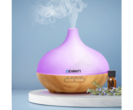 Aroma Diffuser Air Humidifier Night Light 300ml