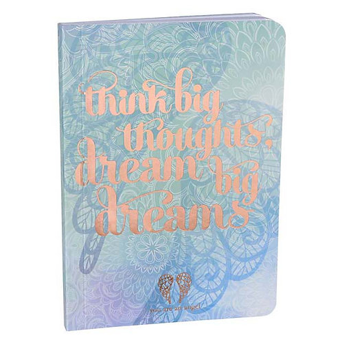 Think Big Dream Big Thoughts - Mini Journal