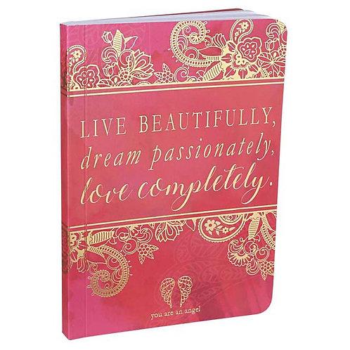 Live, Dream, Love - Mini Journal