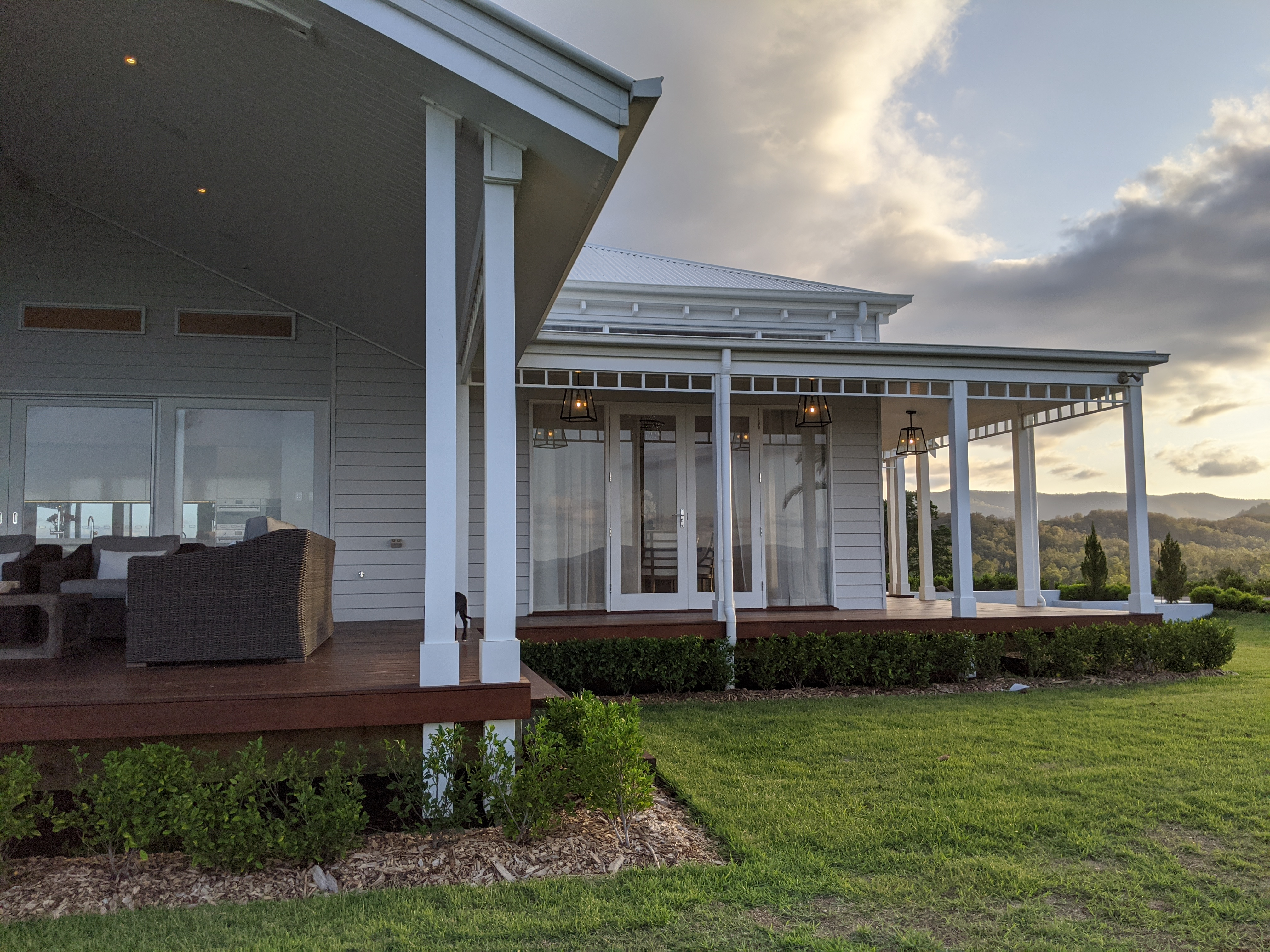 Wrap around Verandah's