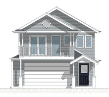 New Hampton Style Small Lot Homes