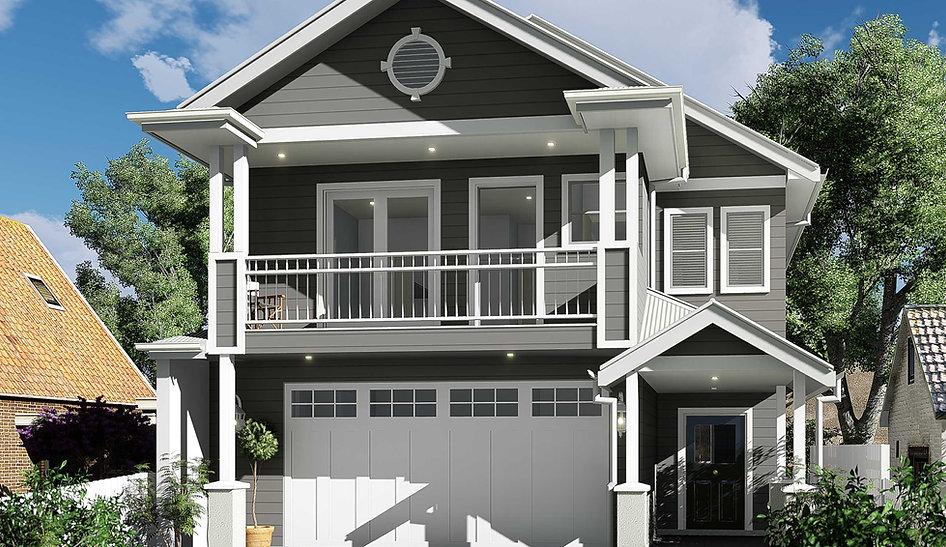 Two Storey New Hampton Small Lot Design