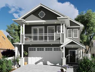 Small lot house designs for splitter blocks