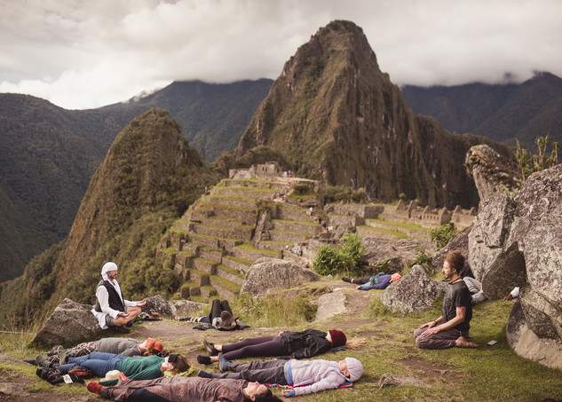 Yoga Nidra at Machu Picchu!