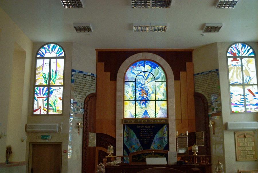 פרויקט בבית הכנסת המרכזי אם המושבות